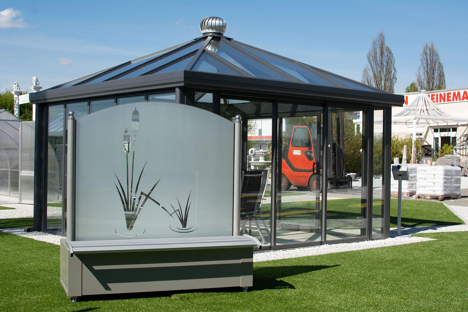 Mobiler Windschutz aus Glas Windschutzelemente bequem online kaufen